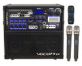 Vocopro Hero-Rec 3&4 120W 4-Channel Portable PA System, 2 wireless microphone