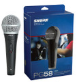 Shure Professional Microphone PG58 XLR