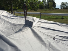 J/70 Travel Mooring Cover with Mainsheet Cut Out