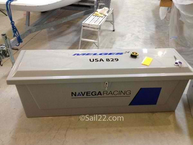 Dock Boxes / Trailer Boxes – Available in Grey, White and Beige. Ask about custom graphics for your dock box!