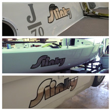 Custom Vinyl Hull Graphics