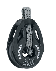 Harken 40 mm T2 Soft-Attach Block - Harken 2149
