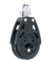 Harken 57 mm Ratchet Block — Swivel - Harken Ratchet Rachamatic
