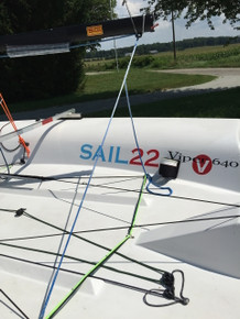 Sail22 Viper Main Sheet with Split Tail