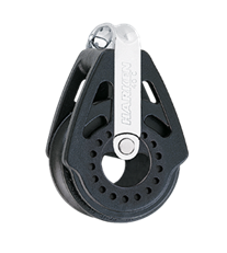 Block at base of mast - Harken 2650
