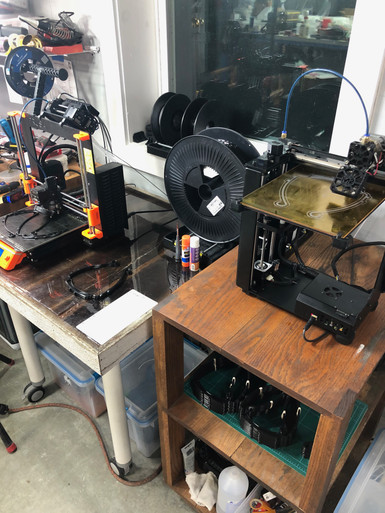 Our 3D Printers at work