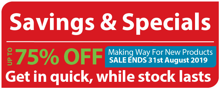 Savings & Specials I Banner