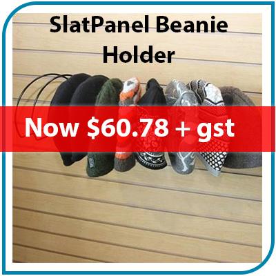 SlatPanel Beanie Holder