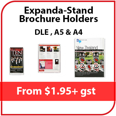 Expanda-Stand Brochure Holders