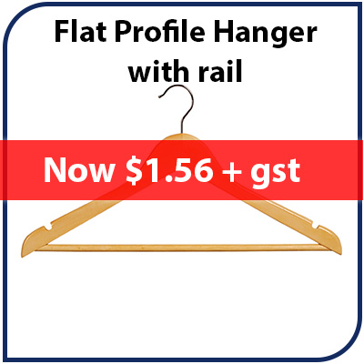 Hanger Flat Profile with Rail