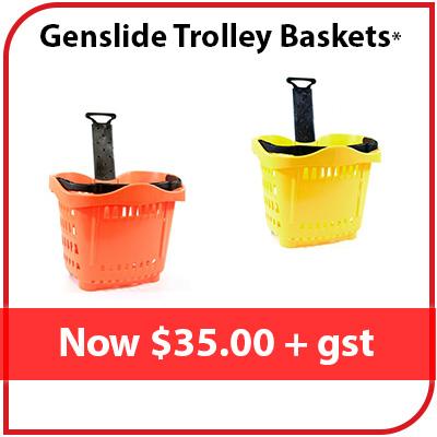 Genslide Baskets I Orange & Yellow