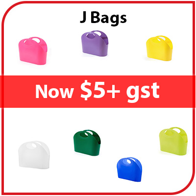 J BAGS - NOW $5 +GST