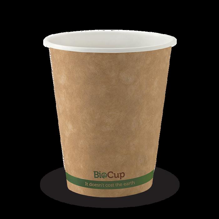 8oz Single Wall Brown Kraft Paper Cups