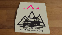XJ-Not All Who Wander Are Lost Decal