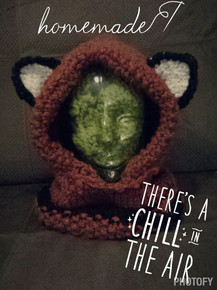 Child Size Fox Hood/cowl