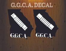 G.G.C.A. decal