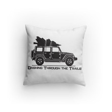 Dashing through the Trails JKU Pillow