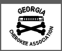 Georgia Cherokee Association Decal