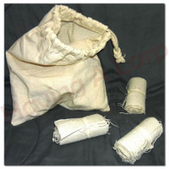 Bag of bandages - contains 10 rolled up bandages.  A large part of LRP is dealing with wounded adventurers and helping others regenerate after a battle. Having your own stash of bandages make getting healed a lot easier for your physician