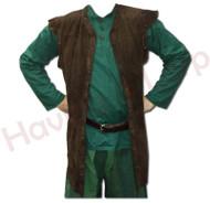 """Suede """"Ranger"""" Waistcoat"""