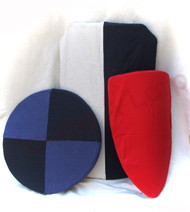 Sample of colours and combinations available