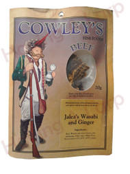 Jalea's Beef Wasabi and Ginger Jerky