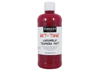 Glitter Paint - Red, 16 oz.
