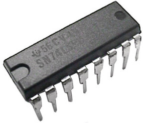 74LS92 Integrated Circuit