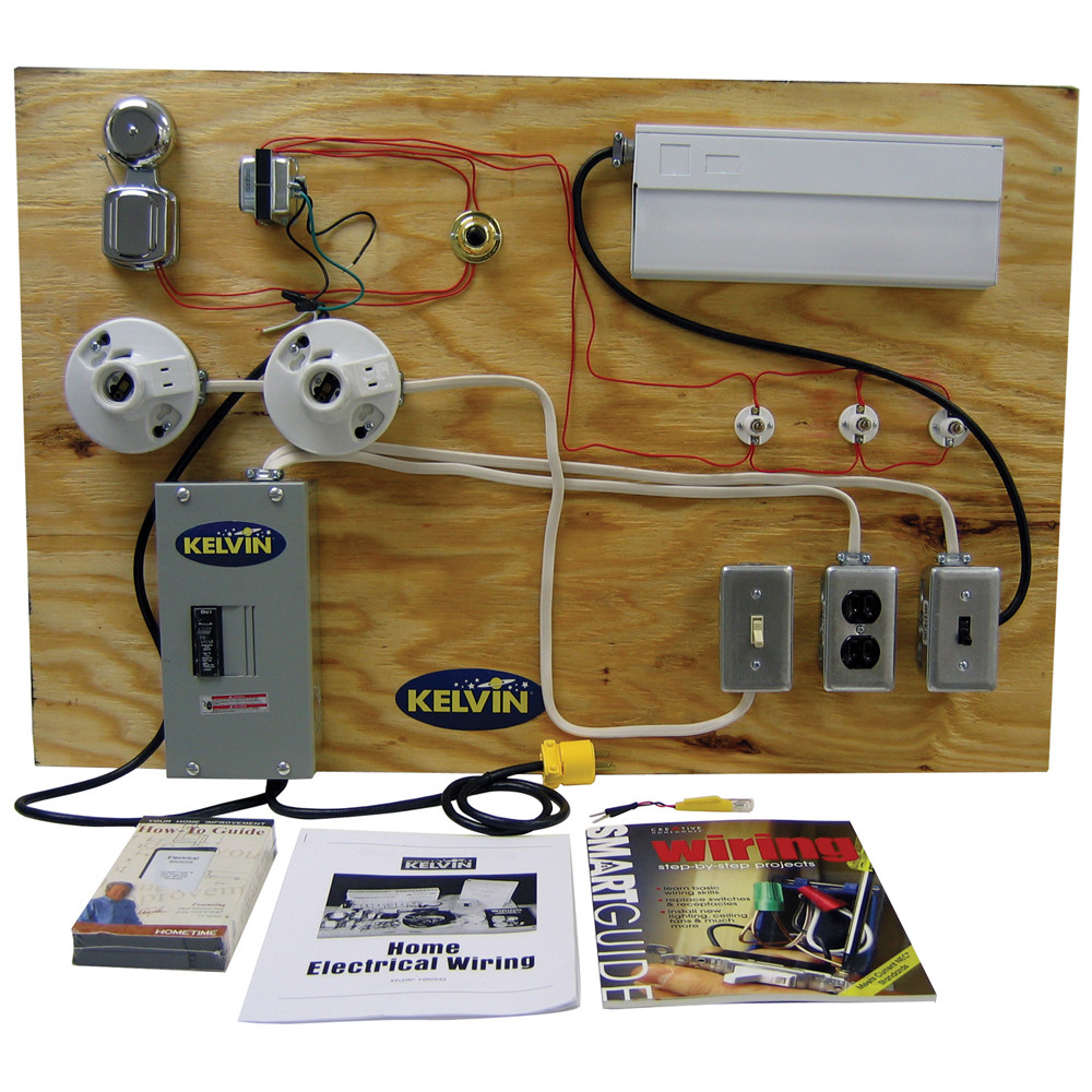 KELVIN® Home Electrical Wiring Trainer on