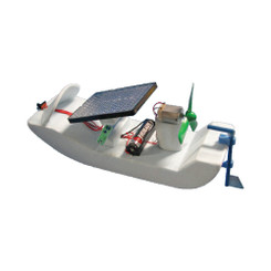 KELVIN® Solar Cell & Battery Boat Kit