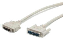 25-pin M to 35-pin M Centronics Cable