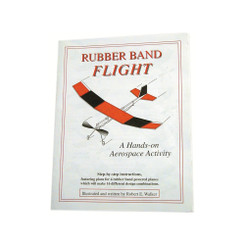 KELVIN® Rubberband Plane Kit Flight Booklet