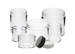 Clear Plastic Jars
