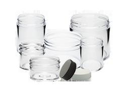 Clear Plastic Jars