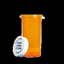6 Dram Amber Prescription Pill Bottle PCR6NA