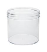 12 oz Clear Plastic Jar REGULAR WALL 12-89-CPS