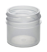 1 oz Natural Plastic Jar REGULAR WALL 1-43-NPPC