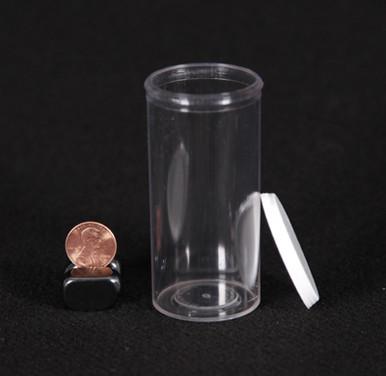 25 Dram Clear Plastic Vial
