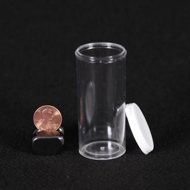 12 Dram Clear Plastic Vial