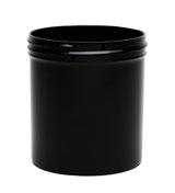 12 oz White Plastic Jar REGULAR WALL  12-89-BPP