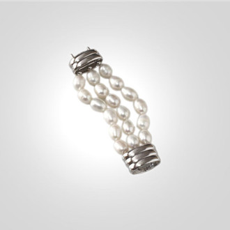Extender - 3 Strand White Pearl
