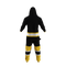 Boston Bruins onesie pajamas by Hockey Sockey - back view