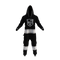 Los Angeles Kings NHL Onesie Pajamas - front view