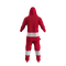 Detroit Red Wings NHL Onesie Pajama - rear view