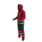 Minnesota Wild NHL Onesie - 80 degree angle side view