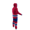 Montreal Canadiens NHL Onesie Pajama - 240 degree rear view angle
