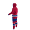Montreal Canadiens NHL Onesie Pajama - 120 degree side view angle