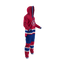 Montreal Canadiens NHL Onesie Pajama - 280 degree side view angle