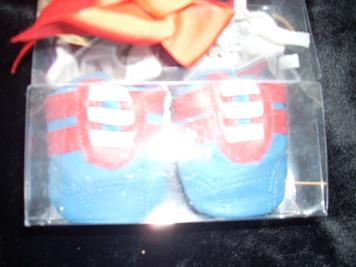 Blue Sneaker Shoe 0-8 Mo