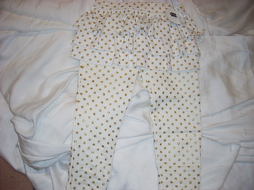 Gold Dotted Skirted Leggings Small (12-18 mo